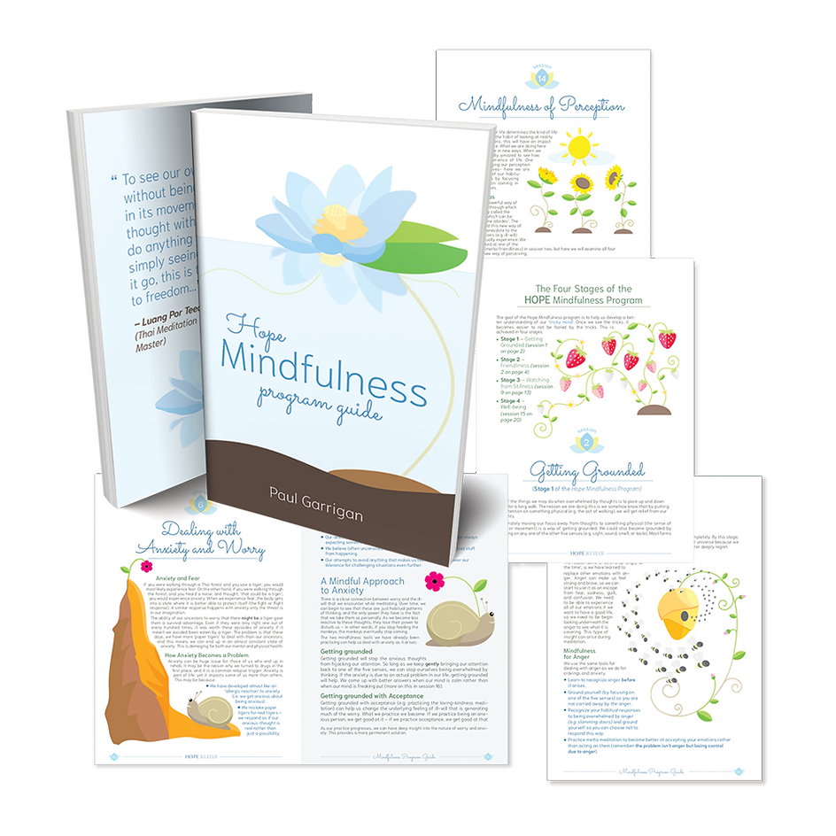 Mindfulness Program Guide - Hope Rehab Thailand