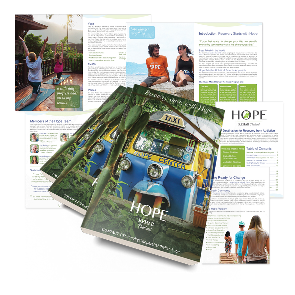 Recovery Book - Hope Rehab Thailand