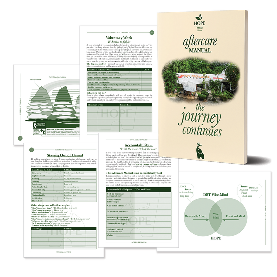 Aftercare Manual - Hope Rehab Thailand