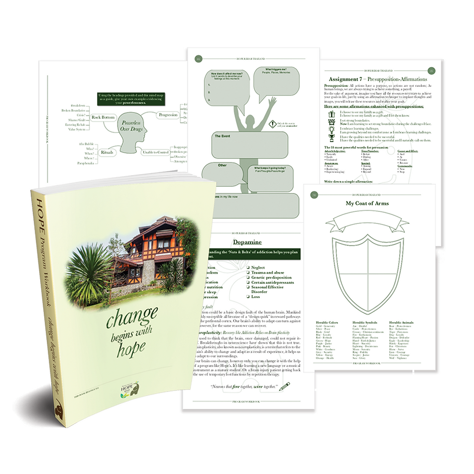 Client Workbook - Hope Rehab Thailand