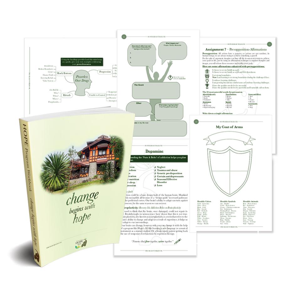 Client Workbook - Hope Rehab Thailand