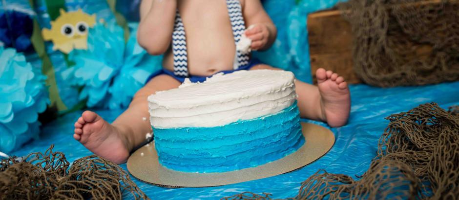 LINKYN'S CAKE SMASH