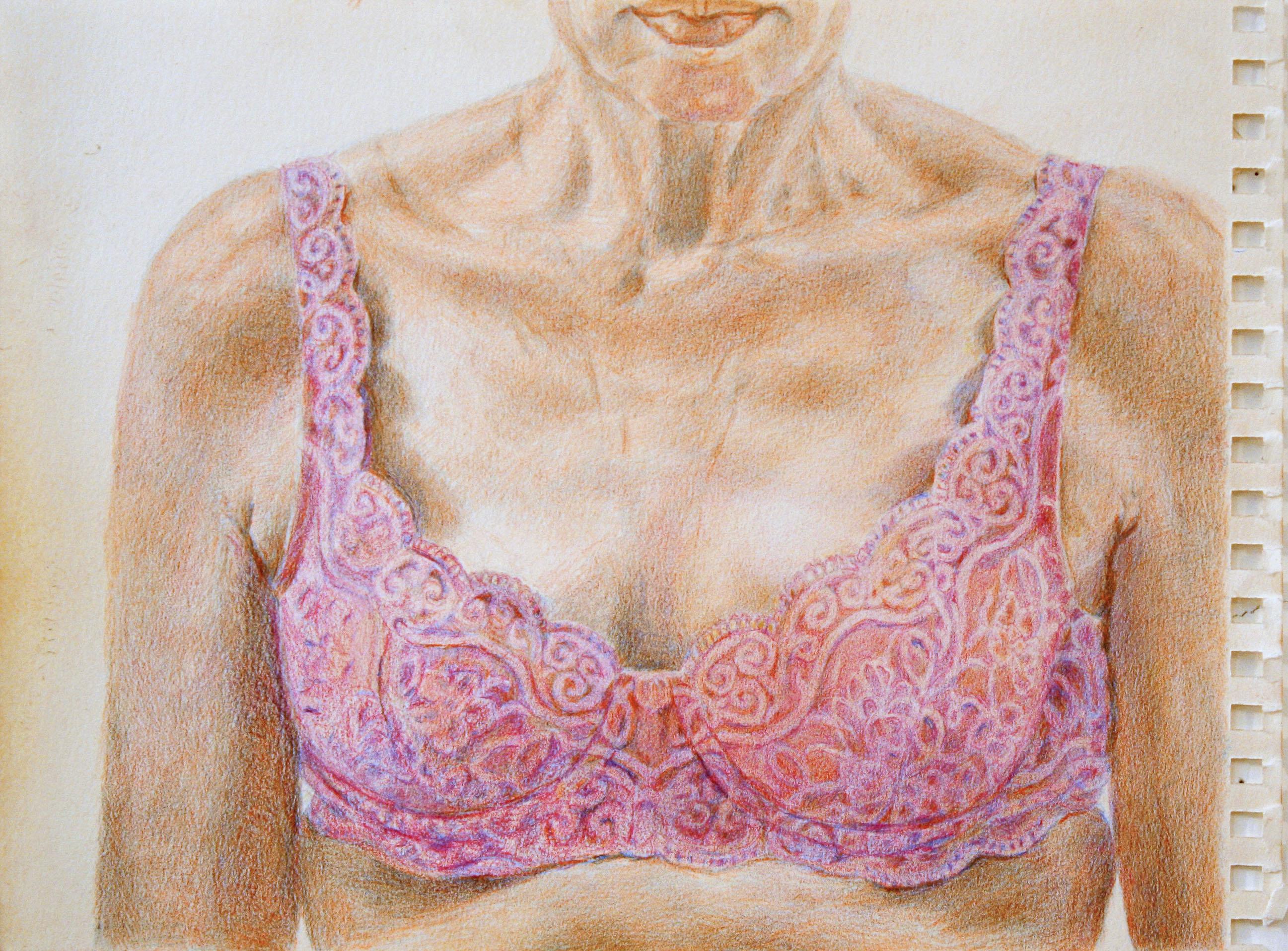 pink bra