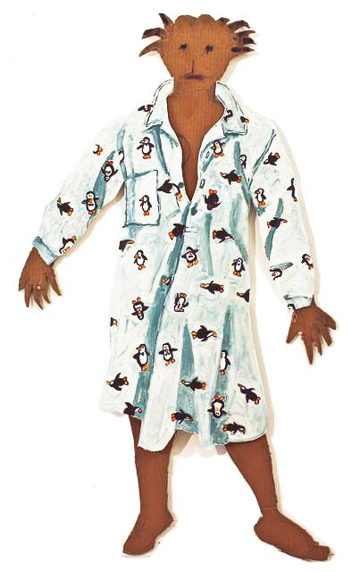 jasmin with penguin nightdress