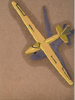 Wooden glider