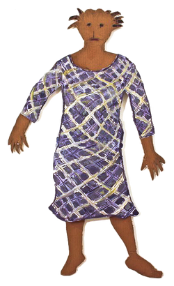 jasmin with checkered dress