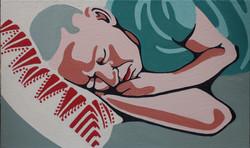 Tzachi sleeping