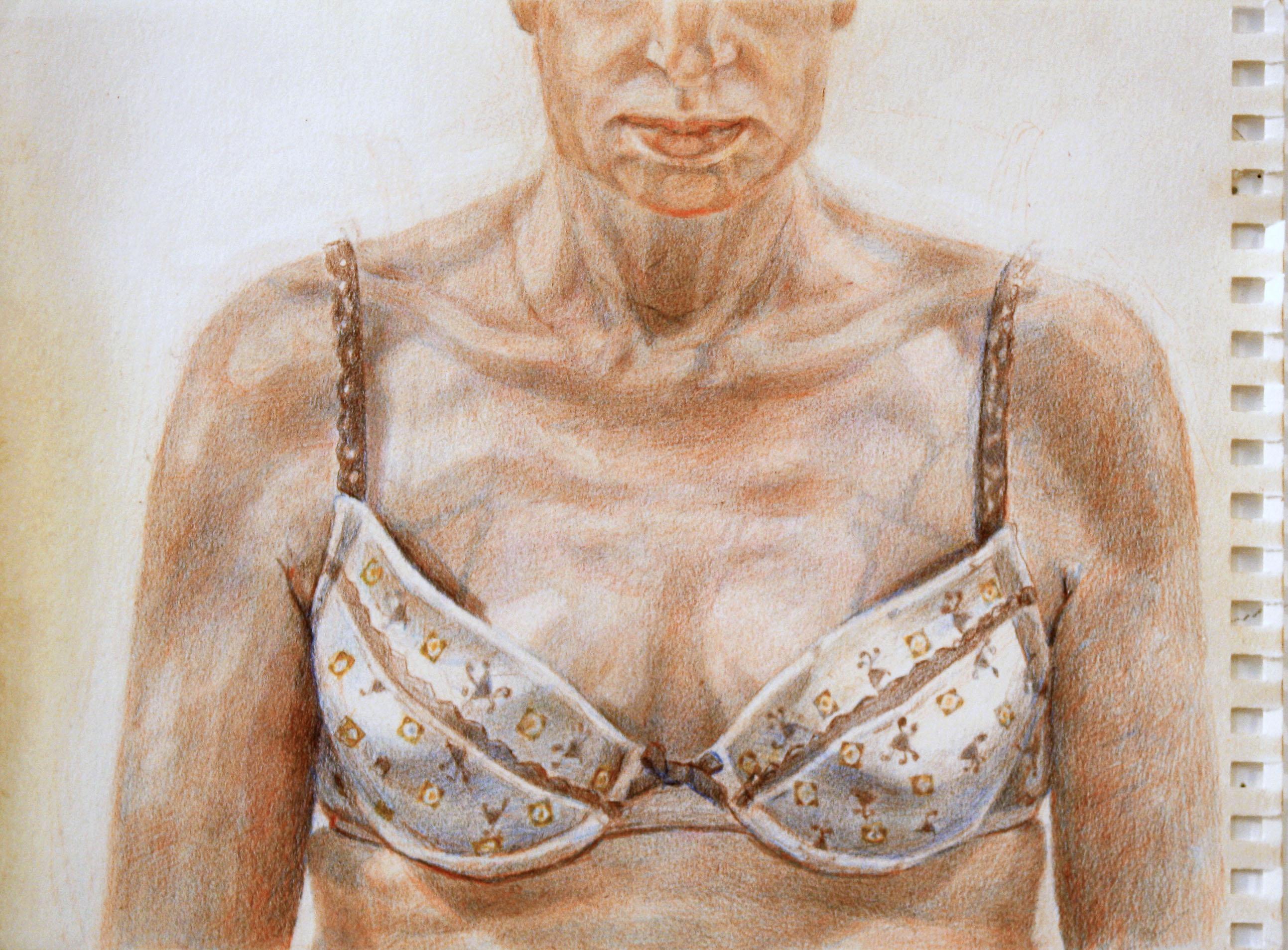 pattern bra