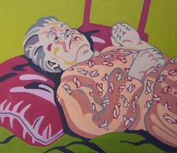 Artist's Mother Resting III