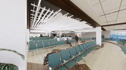 HERA Terminal New Hold Room Rendering