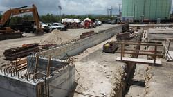 Molasses Pier New Terminal Under Construction