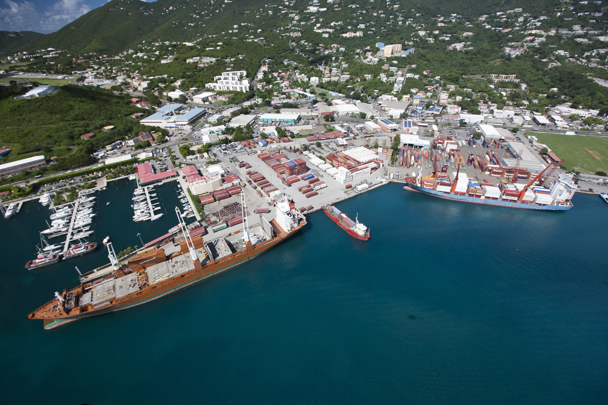 Crown Bay Cargo Port
