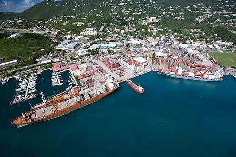 Crown Bay Cargo Port
