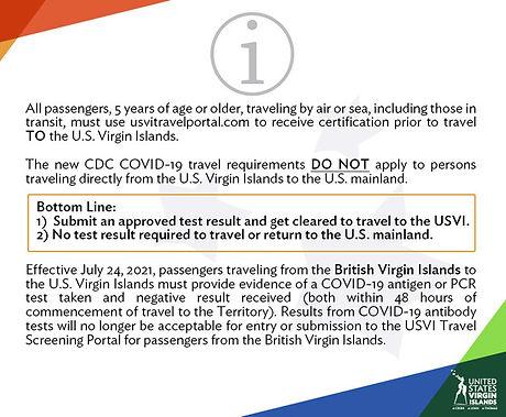 USVI Update 24 July 2021