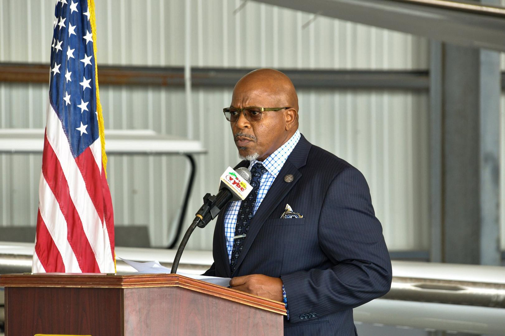 Senate Vice President Myron Jackson