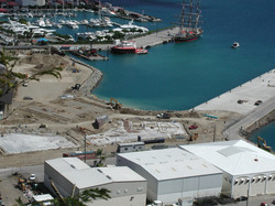 Pier Extension and Crown Bay Center Construction