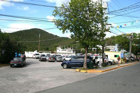 Victor Sewer Parking Lot