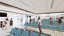 HERA Terminal New Gate Area Rendering
