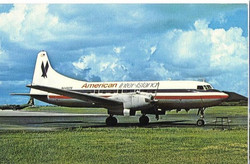 1978 plane at St. Croix airport