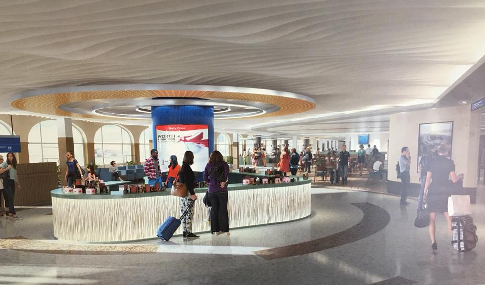 HERA New Terminal Rendering Concession Area