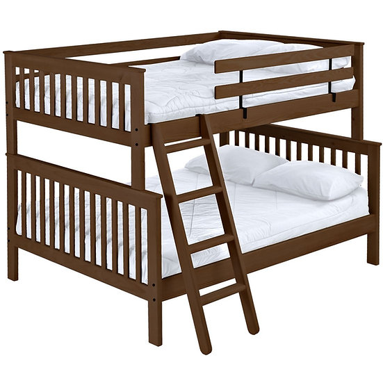 Mission bunk bed. FullXL over queen.(4778)