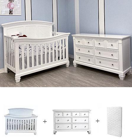 Brittany crib set