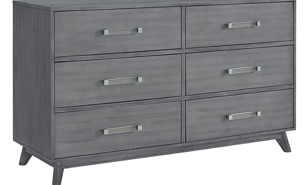 Holland - Cloud Gray 6 Drawer Dresser