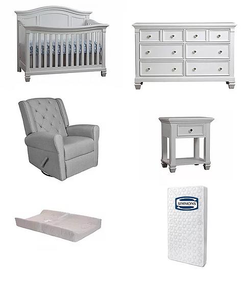 Victoria crib set