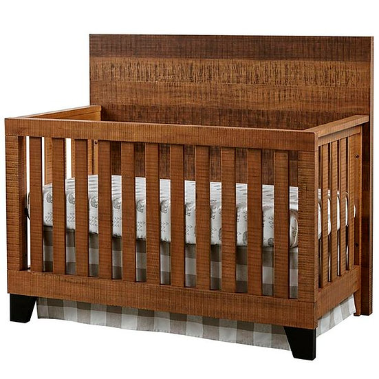 Urban Rustic Convertible Crib | Brushed Wheat