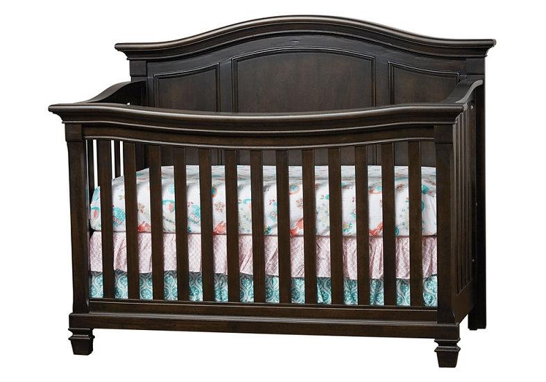 Victoria crib Mocachino