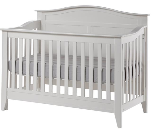 Napoli Forever Crib in White