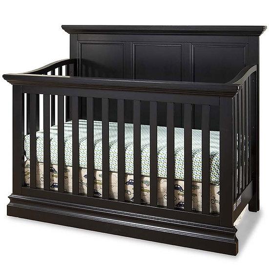 Pine Ridge Convertible Crib | Black