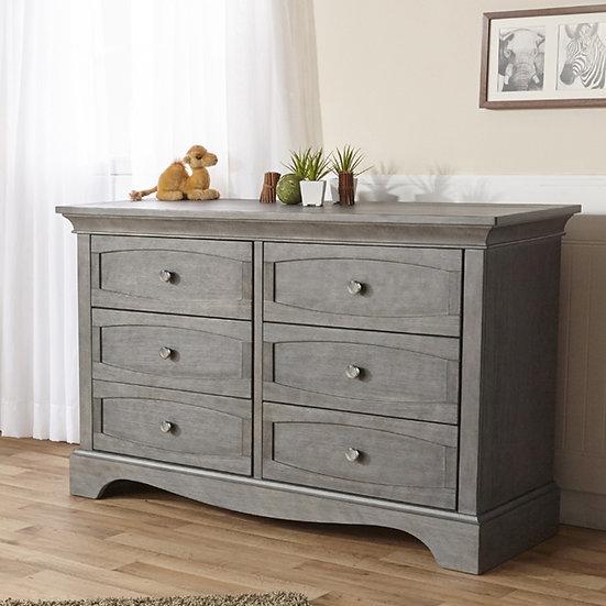 Pali Ragusa Double Dresser in Granite finish