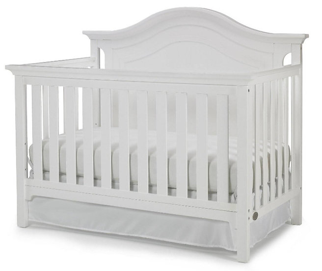 catania crib white