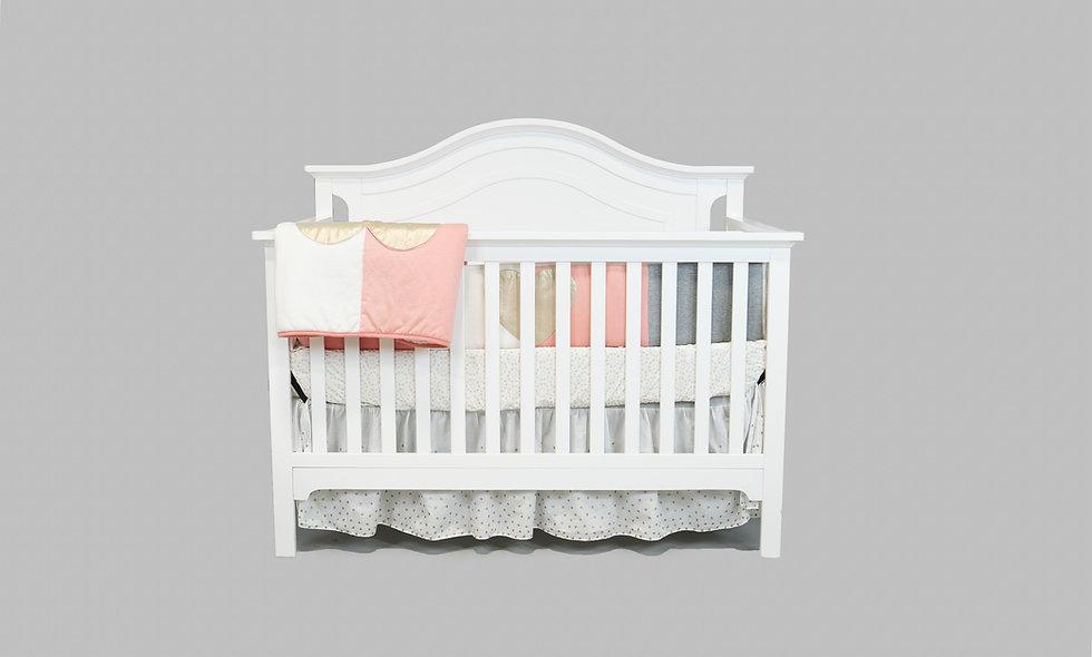 Catania Crib in White