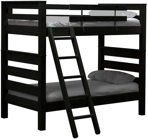 Solid Wood Twin over Twin bunk bed