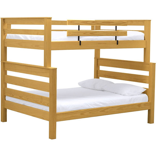 TimberFrame bunk bed. FullXL over queen. (43978)