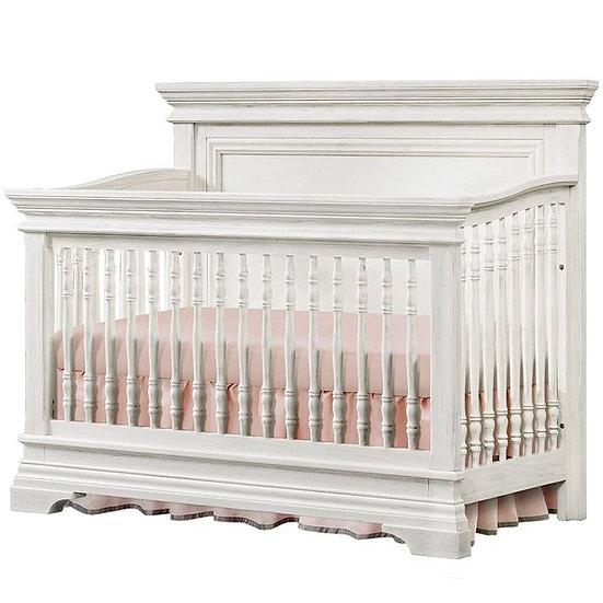 Westwood Olivia Convertible Crib in Brushed White