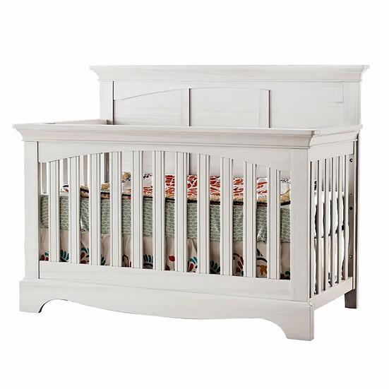 Ragusa pali crib in vintage white