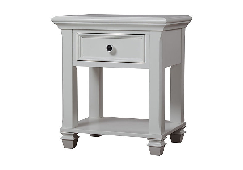 Glendale Night Stand in white finish