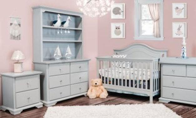 Catania Crib & Double Dresser
