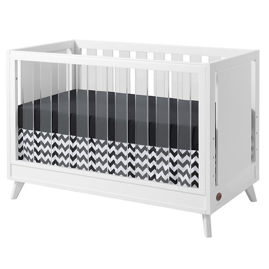 Oxford Baby Holland 3-in-1 Convertible Crib in White