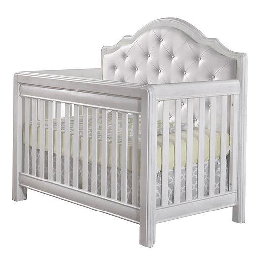 Cristallo Forever Crib in Vintage White finish