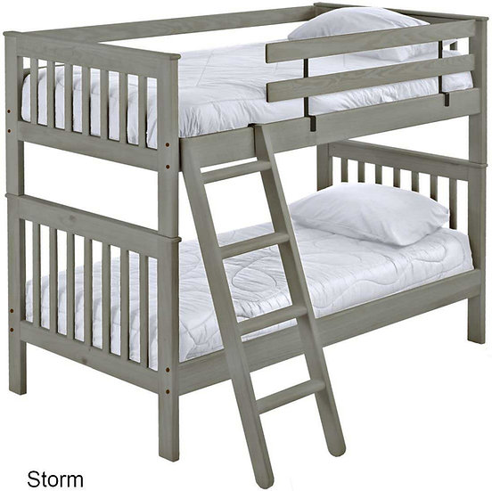 Twin over Twin bunk bed (S4705)