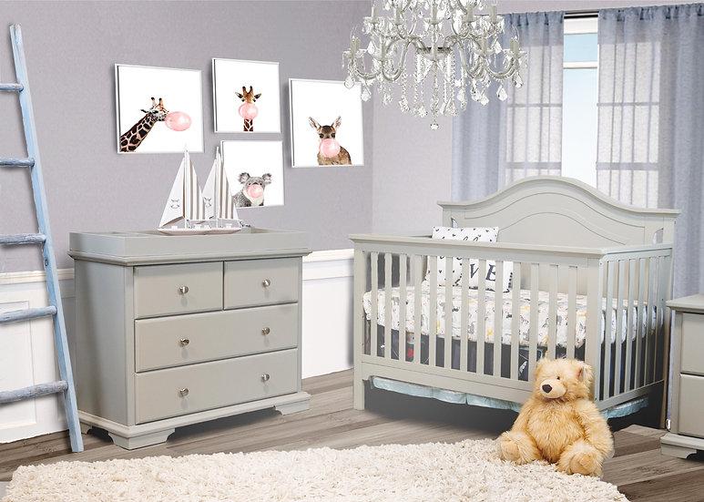Devon Single Dresser and Catania Crib