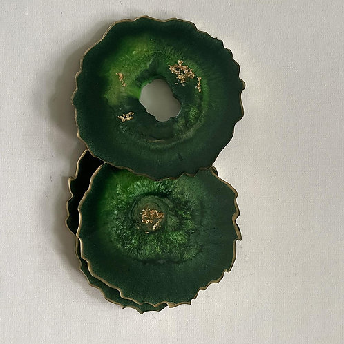 Forest Green Coasters