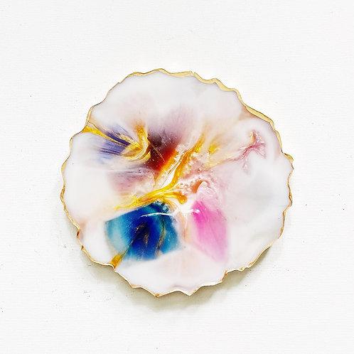 Marble White Coasters