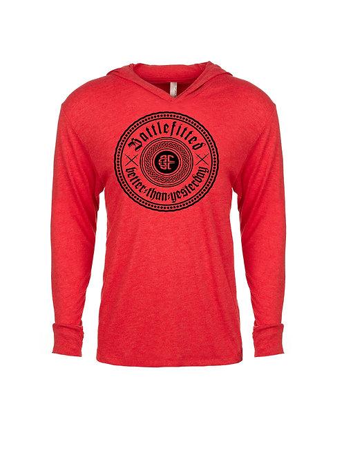 BattleFitted Logo T Shirt Hoodie