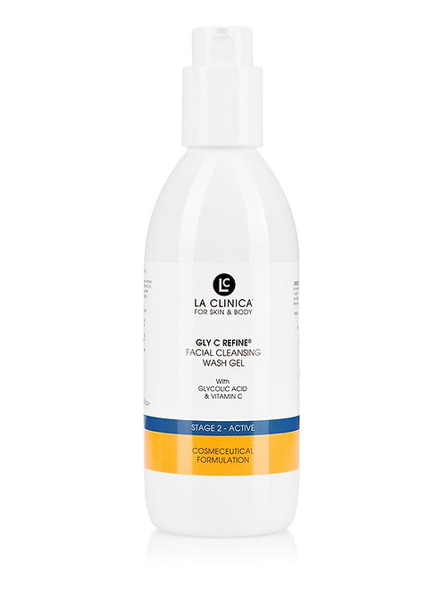 La Clinica Gly C Refine Facial Cleansing Wash Gel with Glycolic Acid 250ml