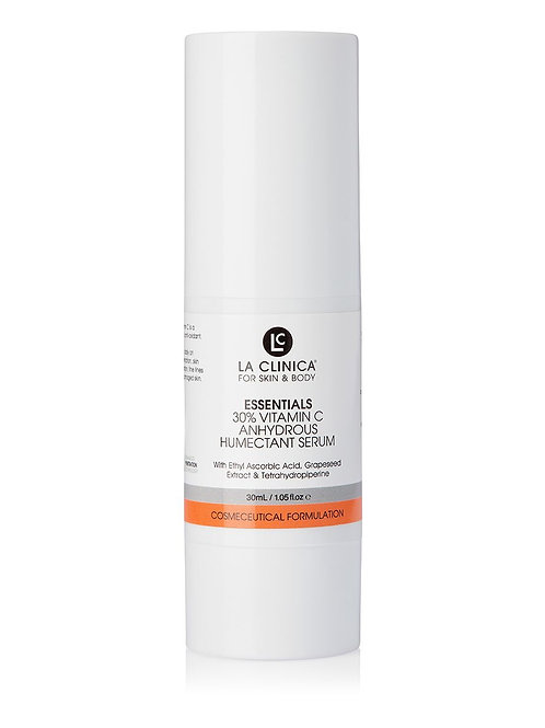La Clinica Essentials 30% Vitamin C Anhydrous Humectant Serum 30ml